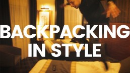 How To Back Pack in Style - The INGAF Hustle S2 Ep7