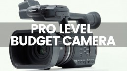 Professional Cameras For Video On A Budget | Panasonic AG AC90 Is It Still Relevant?