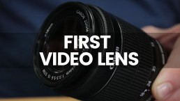 The Best First Canon Lens For Video? | Canon 18-55mm Kit Lens Review