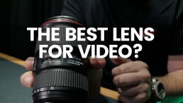 The Best Lens For Video? | Canon 16-35mm F/4 L Series For Film