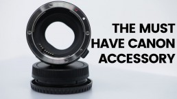 The Must Have Canon Accessory | Canon Mirrorless Lens Adapter
