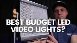 The Best Lights For YouTube Videos On A Budget | Neewer NL480 LED Studio Light Review