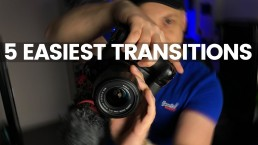 5 Easiest & Best In Camera Transitions For Vlogs | A Day In The Life Of A Filmmaker