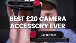 Best Vertical Video Camera Accessory | Andoer Z Stand Review