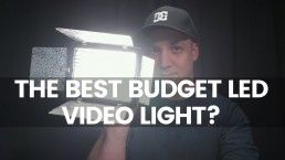 Budget LED Light For YouTube Videos? | Yongnuo YN160 Review