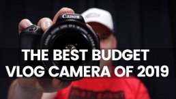 The Best Budget Vlog Camera 2019 | Canon 200D SL2 Review & Giveaway