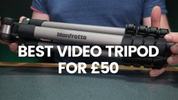 The Best Video Tripod For £50 | Manfrotto Compact Advanced Review