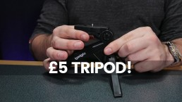 The Cheapest Camera Accessories | 2 in 1 Tripod Under £10 Review
