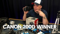 Canon 200d-SL2 Giveaway Announcement | Best Budget Vlog Camera 2019