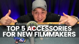 Top 5 Must Have Accessories For Every New Filmmaker Under £20