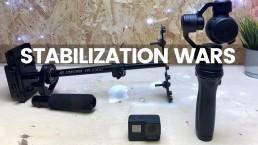 GoPro Hero 7 Black Hypersmooth vs DJI Gimbal | Stabilization Comparison Test