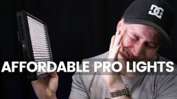 My Favourite Professional LED Lights For YouTube Video | Aputure Amaran AL-528W