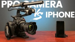 iPhone Video vs Pro Cinema Camera // What is the best camera for YouTube?