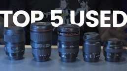 Top 5 Pre Owned Canon Fit Lenses For Video in 2019 | The Best Value Lenses